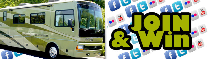 Facebook Sweepstakes, RV Resort Announces Facebook contest winner, more chances to win.