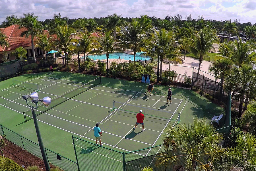 Naples Motorcoach Resort Pickleball