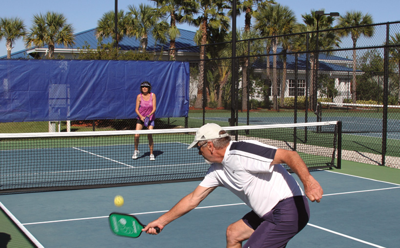 Silver Palms RV Resort Pickleball