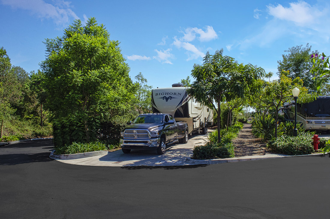 Escondido Rv Resort Is Located In North County San Diego