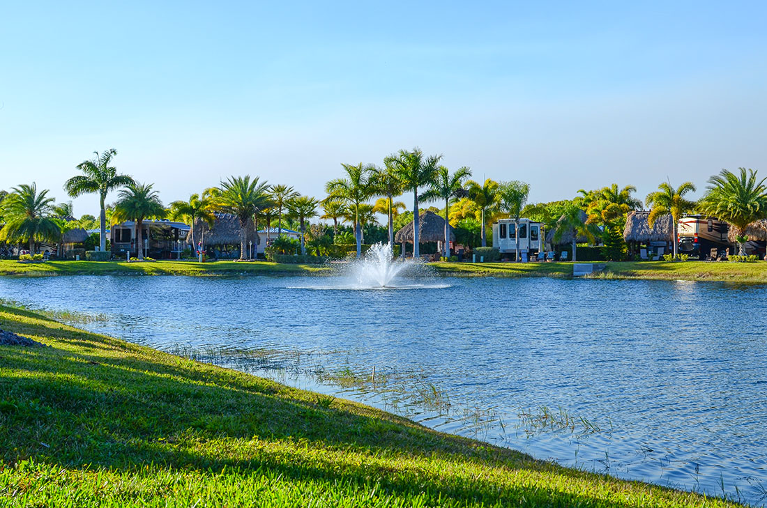 Silver Palms RV Resort in Florida